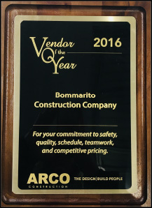 ARCO Vendor of the Year