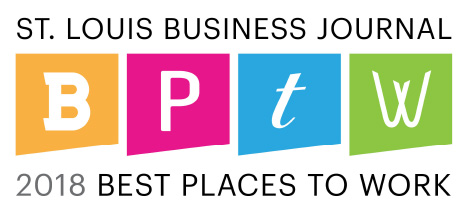 2018 St. Louis Business Journal Best Place to Work